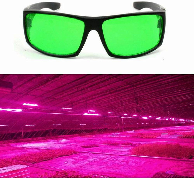 DADEQISH Augenschutz-LED-Schutzbrillen Anti-Glare Anti-UV Grün Lens Gläser für Gewächshaus Innenlicht B07MQQY3DV | Angenehmes Aussehen