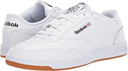 White/Black/Reebok Rubber Gum