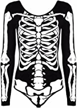Best long sleeve skeleton bodysuit Reviews