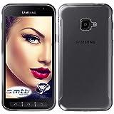mtb more energy® Schutz-Hülle Clear und Slim für Samsung Galaxy Xcover 4, 4S (SM-G390F, G398F / 5.0'') - transparent - flexibel - TPU Hülle Schutz Hülle Tasche