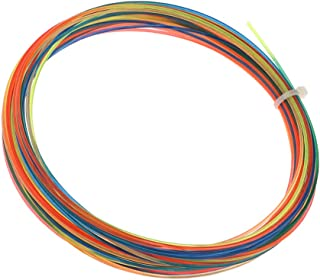 F Fityle Rainbow 12 Meter High Tennis Racket String, Also for Squash /