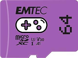 EMTEC Gaming ECMSDM64GXCU3G MicroSD-kaart 64 GB schrijfsnelheid 95 MB/s leessnelheid 100 MB/s violet