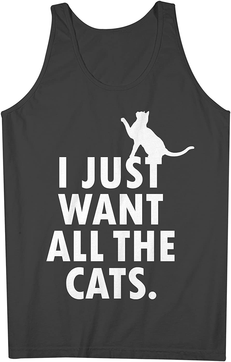 I Just Want All The Cats 男性用 Tank Top Sleeveless Shirt