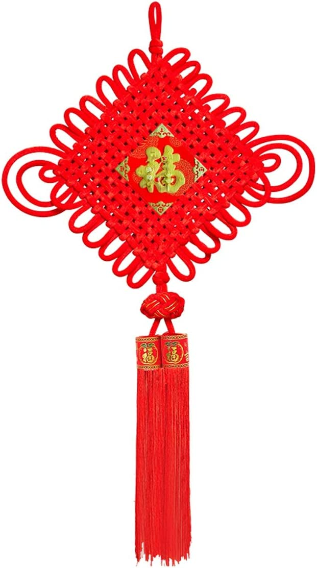 Chinese Knot Louisville-Jefferson County Mall Tassel Translated Pendant Character Fu Decoration