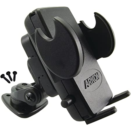 Arkon Adhesive Car or Truck Phone Holder Mount for iPhone 12 11 Pro Max XS XR Galaxy Note 20 10 9 Retail Black