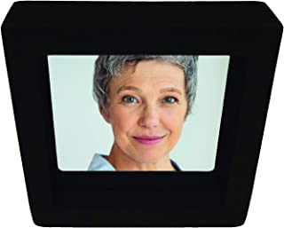 """Suddenly Hair 8"""" Square Small Freestanding Unbreakable Mirror. Perfect for Children Seniors Travel Hair Salons Work or Any..."""