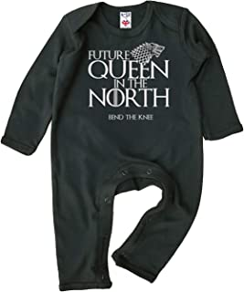 Image is Everything Baby Mädchen Strampler Future Queen in The North, GOT