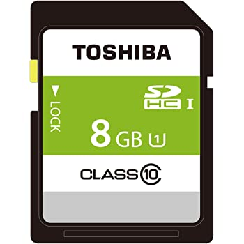 東芝 SDHCカード 8GB Class10 UHS-I対応 (最大転送速度48MB/s) 日本製 国内正規品 Amazon.co.jpモデル THN-NW08G4R8