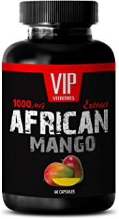 African Mango Seed Extract - Pure African Mango 1000mg 4: 1 Extract - Weight Loss (1 Bottle 60 Capsules)