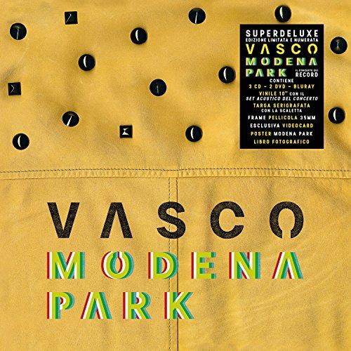 Vasco Modena Park [3 CD + 2 DVD + Blu-Ray Disc + Vinile 10' - Box Super Deluxe Limitato e Numerato] (Esclusiva Amazon.it)