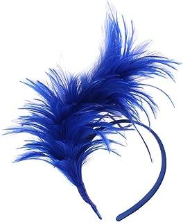 Best blue feather headpiece Reviews