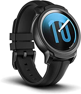 Ticwatch E2, Waterproof Smartwatch with 24 Hours Heart Rate Monitor, Wear OS by Google, Compatible with Android and iOS (E...