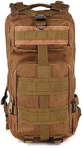 DSHWB Sac à Dos d'alpinisme Armée Fan Tactique Sac à Dos 3p Attaque Sac Camouflage Sac à Dos étanche Multifonctions randonnée en Plein air Sac à Dos Sac à Dos