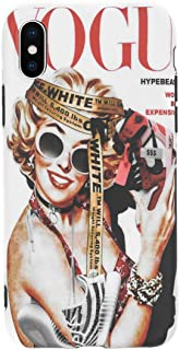 for The Culture Artwork - Flexible Plastic Protective Case/Cover / Skin/Bumper for iPhone (Marilyn, iPhone Xs Max)