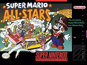 Super Nintendo - Canvas Super Mario All Stars 30X40