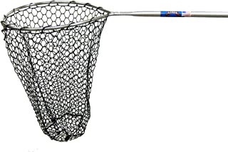Ranger 345RD Hook-Free and Tangle Free Molded Rubber Knotless Landing Net (36-Inch Handle, 18-Inch Round Hoop, 24-Inch Net Depth)