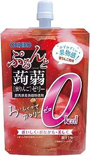 オリヒロ ぷるんと蒟蒻ゼリー カロリーゼロ 蜜りんご 130g×8個