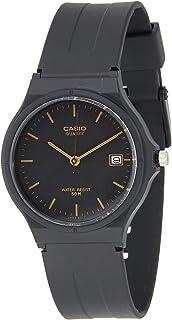 Casio Men's Black Dial Resin Band Watch - MW-59-1E