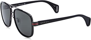 Gucci Sunglasses GG 0448 S- 001 Black/Grey