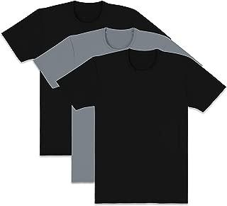 Fruit of the Loom Mens ELM3PBG Everlight Active Crew T-Shirts Underwear - Multi