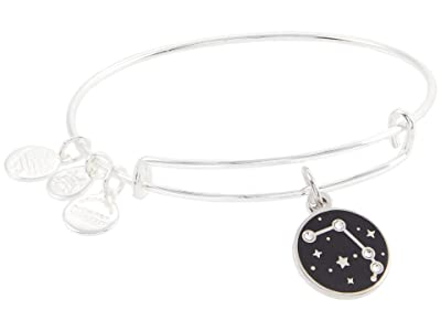Alex and Ani Color Infusion Aries Bangle Bracelet (Shiny Silver) Bracelet