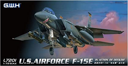 Great Wall Hobby 1/72 The United States Air Force F-15E Fighter-Bomber Plastic Model L7201