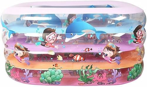 Aufblasbare Badewanne Kind Baby Bunte aufblasbare Pool Dicker Schwimmbad Faltbare Ozean Ball Pool Planschbecken Pool Wasserspielplatz