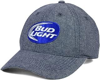 Budweiser Bud Light Beer Men's Adjustable Strapback Hat Cap by Top of the World