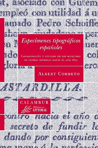 Especímenes tipográficos españoles