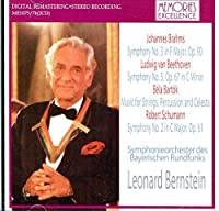 Beethoven Symphony No.5 Rec. 10/76. Brahms Symphony No.3 Rec. 11/24/78. Bartok Music For Str by VARIOUS ARTISTS