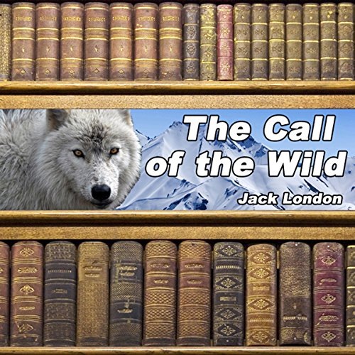 The Call of the Wild audiobook cover art