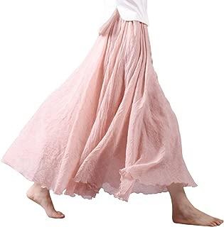 Best pink linen skirt Reviews