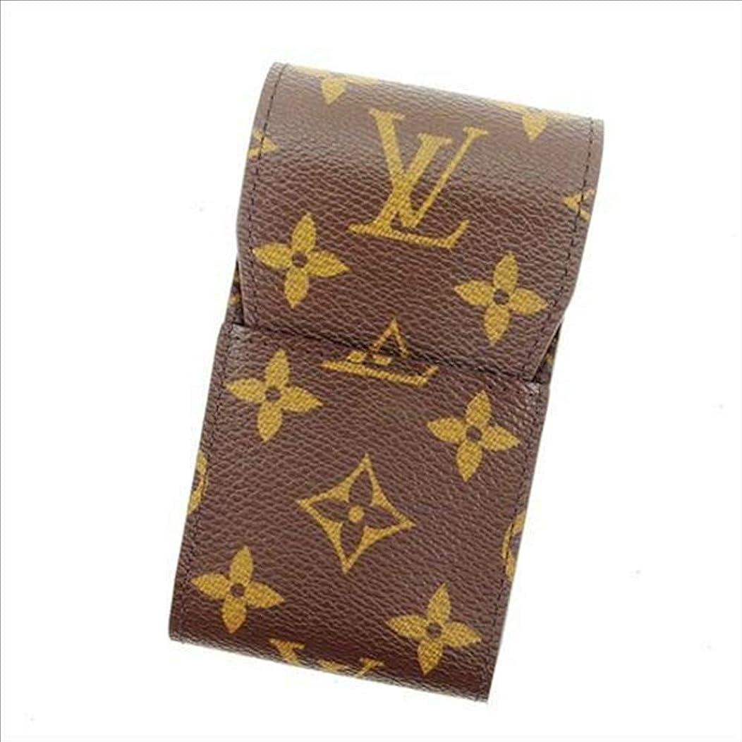 処理創造飼料ルイヴィトン Louis Vuitton シガレットケース タバコケース メンズ可 エテュイシガレット M63024 モノグラム 中古 T12330
