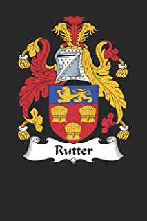 Rutter: Rutter Coat of Arms and Family Crest Notebook Journal (6 x 9 - 100 pages)