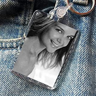 Katie Holmes - Original Art Keyring #js004