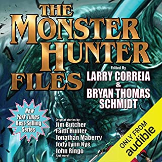 Page de couverture de The Monster Hunter Files