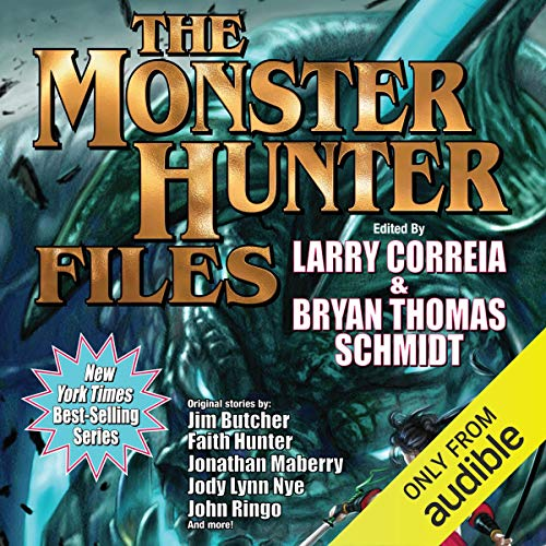 Page de couverture de The Monster Hunter Files