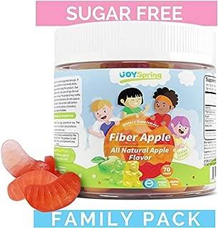 Fiber Gummies for Kids - Fruity Sugar Free Kids Fiber Gummy - Gluten Free Stool Softener for Toddlers - Family Pack