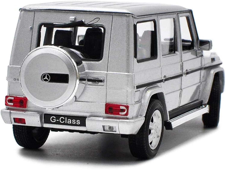 saludable Ldwxxx Escala 1 24 Gran Mercedes-Benz Mercedes-Benz Mercedes-Benz Clase G Vehículo Todoterreno Modelo de automóvil Fundido a Troquel - Simulación de aleación Modelo de Juguete Decoración de Juguete  precios mas bajos