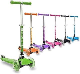 comprar comparacion 3StyleScooters® RGS-1 Patinete Scooter Tres Ruedas para Niños Pequeños Niños de 3 Años o Más con Luces LED en Las Ruedas, ...