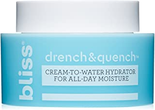 Sponsored Ad - Bliss Drench and Quench Cream-To-Water Daily Moisturizer and Hydrating Skin Cream for Balancing and Brighte...