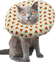 ANIAC Pet Adjustable Comfy Cone Soft Recovery Protective E-Collar Post Surgery Stress-Free Collar from Surgery,Wound Healing for Cats