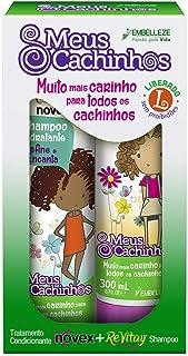 Shampoo e Condicionador Kit, Novex meus cachinhos