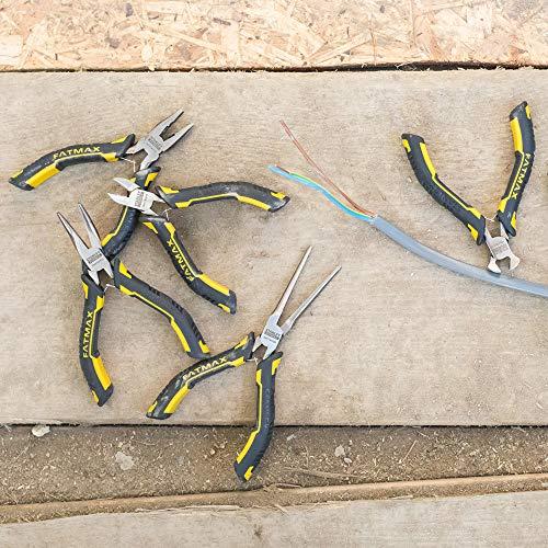 STANLEY FMHT0-80541 Set mini-alicates FATMAX 6 piezas, Nero/Giallo