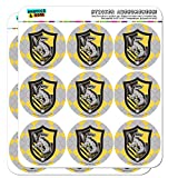 Harry Potter Hufflepuff Plaid Sigil Planner Calendar Scrapbooking Crafting Stickers