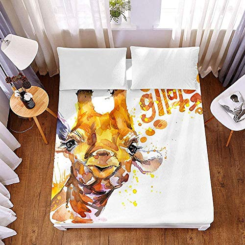 Bedclothes-Blanket Boxspringbett Spannbettlaken,Mikrofasermatratze Spannbetttuch...