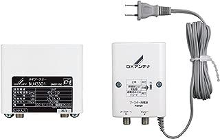 DXアンテナ UHFデュアルブースター 家庭用 高シールド 水平マストに取付可能 BU433D1