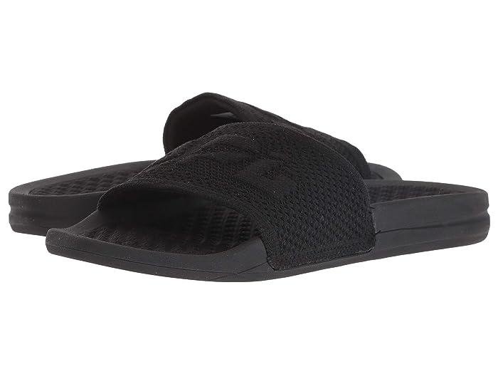 Athletic Propulsion Labs (APL)  Big Logo Techloom Slide (Black) Womens Slide Shoes