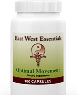 Optimal Movement - Dietary Supplement by East West Essentials - All Natural Herbal Formula - Aids In The Prevention of Constipation - Enhances Movement Of GI Tract