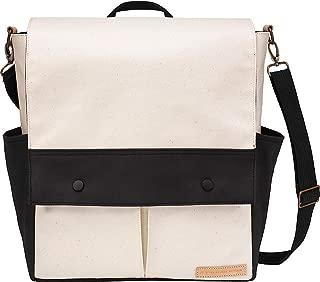 petunia pickle bottom Women's Glazed Color Block Pathway Pack Birch/Black Diaper Bag